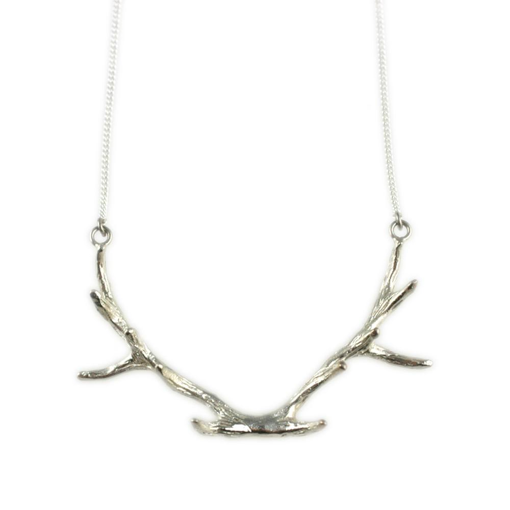 something silver mimi marge sterling silver antler