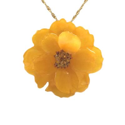 Yellow Cosmos Necklace