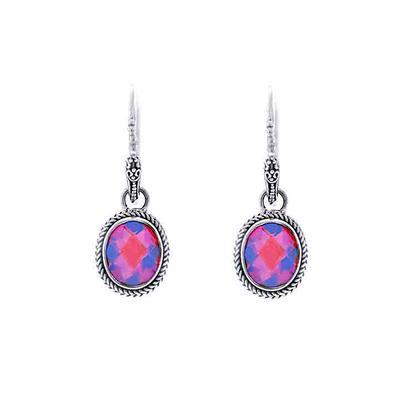Sarda Sterling Silver & Volcanic Quartz Earrings