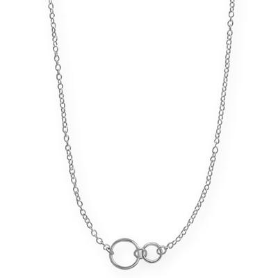 Boma Sterling Silver Little Circles Necklace