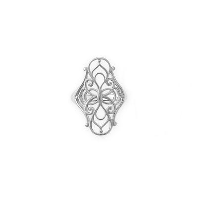 Boma Sterling Silver Filigree Ring