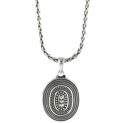 Indiri Sterling Silver Raya Granulation Necklace