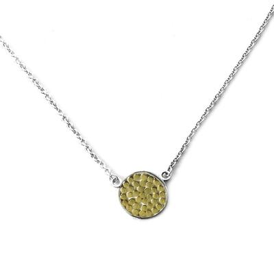 Indiri Gold & Sterling Silver Kala Necklace