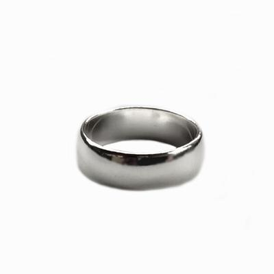 Sterling Silver 7mm Band Ring