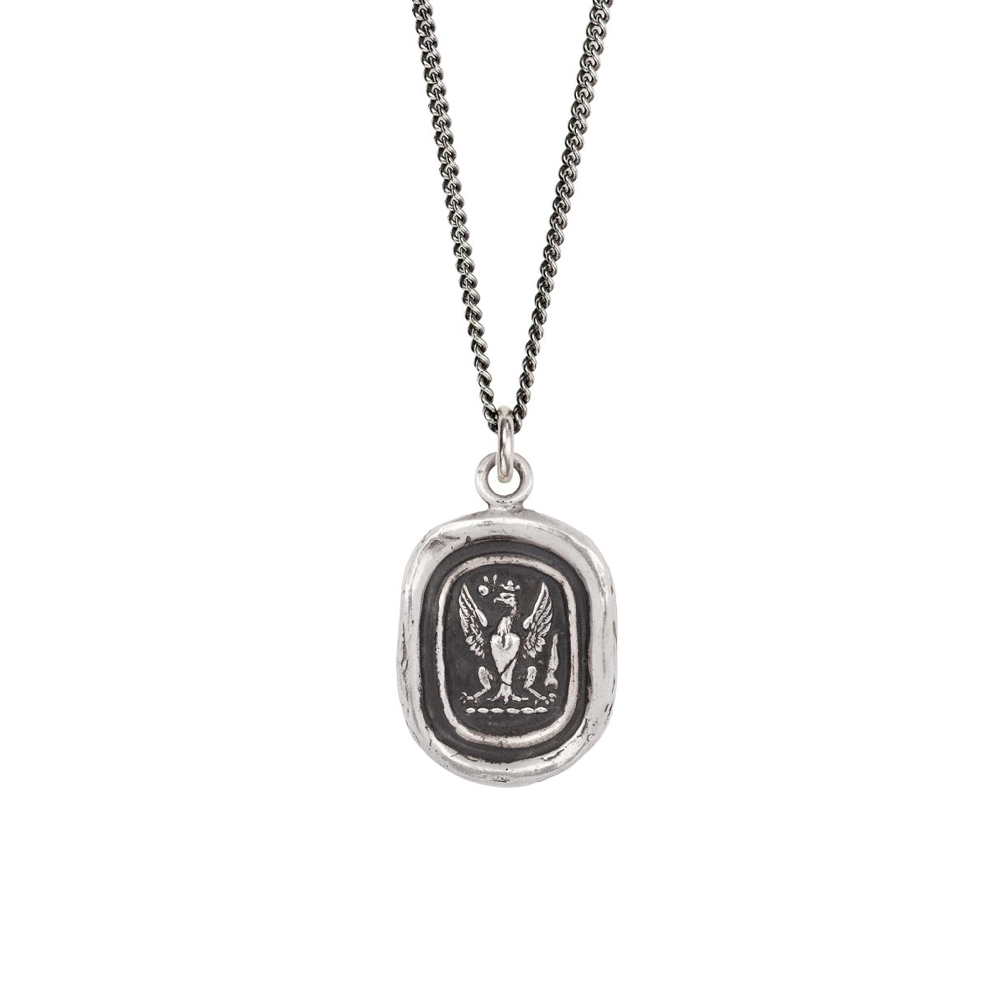 Pyrrha Sterling Silver Follow Your Dreams Talisman Necklace