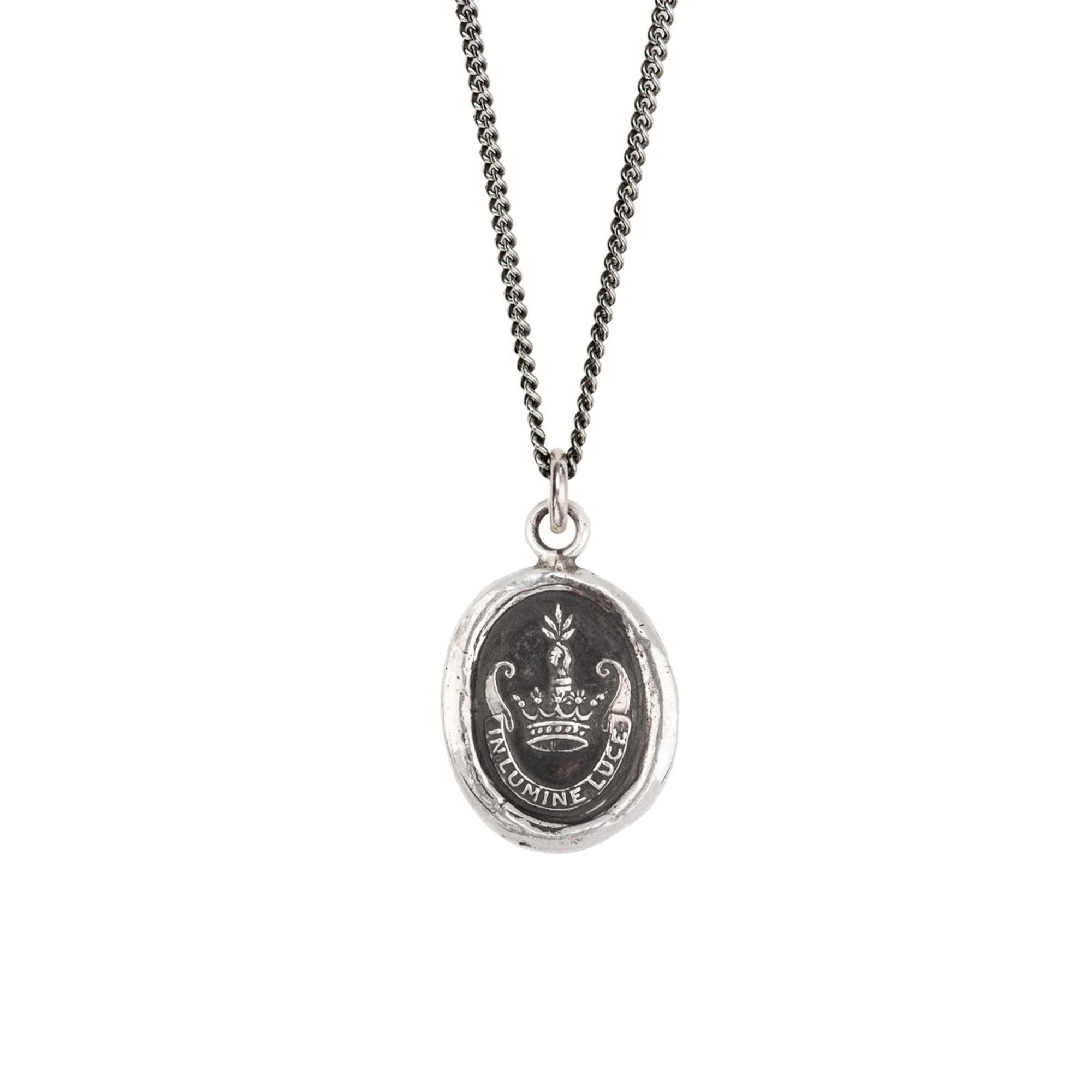 Pyrrha Sterling Silver Inspiration Talisman Necklace