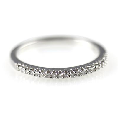 Elsa M Jillian Diamond & Sterling Silver Ring