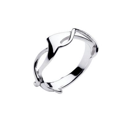 Kit Heath Modern Sterling Silver Ring