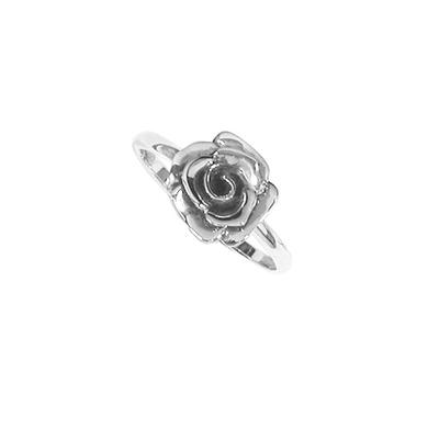 Boma Sterling Silver Rose Ring