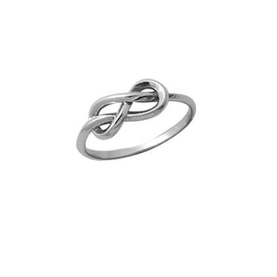 Boma Sterling Silver Looped Infinity Knot Ring