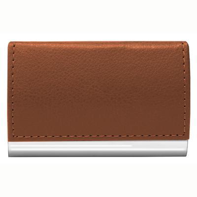 Signature Brown Card Case