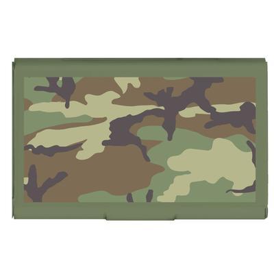 Camo Print Card Case
