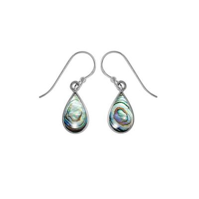 Boma Abalone Shell & Sterling Silver Dangle Earrings