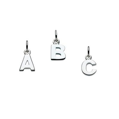 Kit Heath Sterling Silver Initial Charms