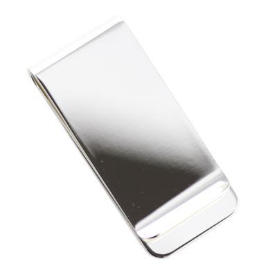 Silver Plated Plain Money Clip