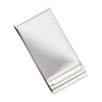 Silver Plated Twin Slot Money Clip