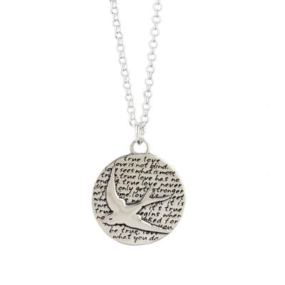 Kevin N Anna Sterling Silver Sparrow - True Love Necklace