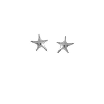 Boma Sterling Silver Starfish Studs