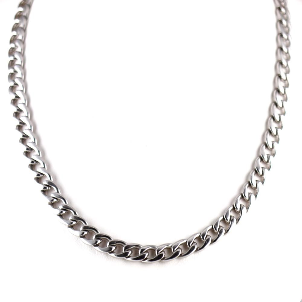 Home gt Necklaces Chain INOX Stainless Steel Curb