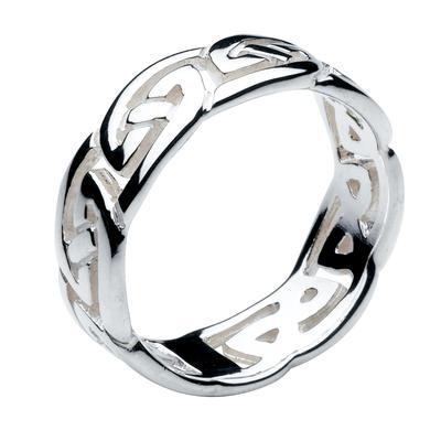 Kit Heath Men's Sterling Silver Celtic Ring