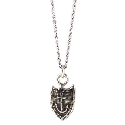 Pyrrha Sterling Silver Unshakeable Talisman Necklace