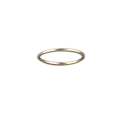 Tiny Gold Filled Stacking Ring