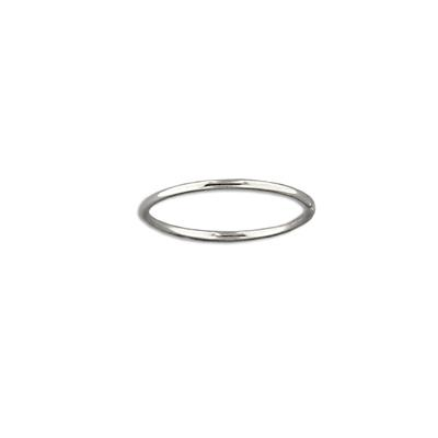 Tiny Sterling Silver Stacking Ring