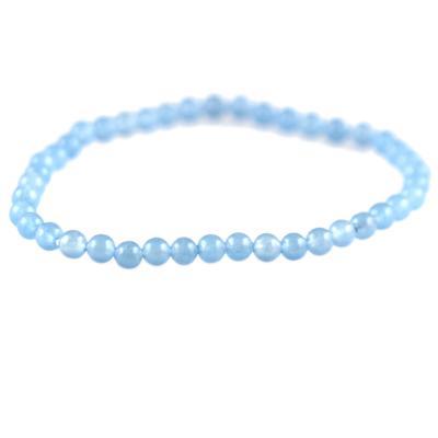 Power Mini Light Blue Jade Bracelet - Trust