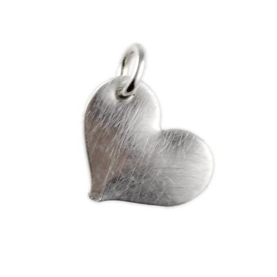 Kelley Reese Sterling Silver Heart Charm
