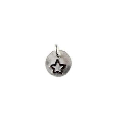 Kelley Reese Sterling Silver Tiny Star Charm
