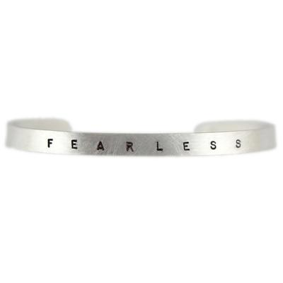 Kelley Reese Sterling Silver Fearless Cuff