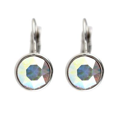 Roberto Martinez Aurora Borealis Swarovski Crystal Earrings