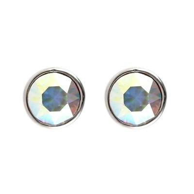 Roberto Martinez Aurora Borealis Swarovski Crystal Studs