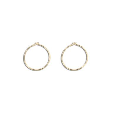 Extra Small Thin Gold Filled Hoops
