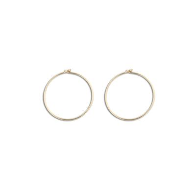 Small Thin Gold Filled Hoops