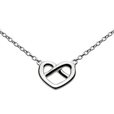 Kit Heath Sterling Silver Love Knot Necklace