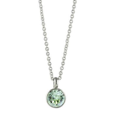 Roberto Martinez Chrysolite Swarovski Crystal Necklace