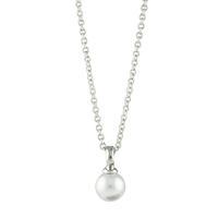 Roberto Martinez White Swarovski Pearl Necklace