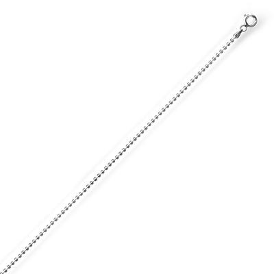 Thick Sterling Silver Ball Chain