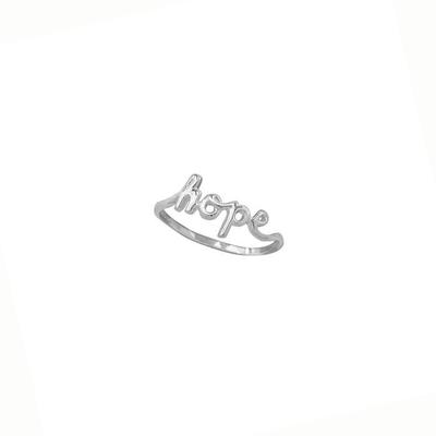 Boma Sterling Silver Hope Ring