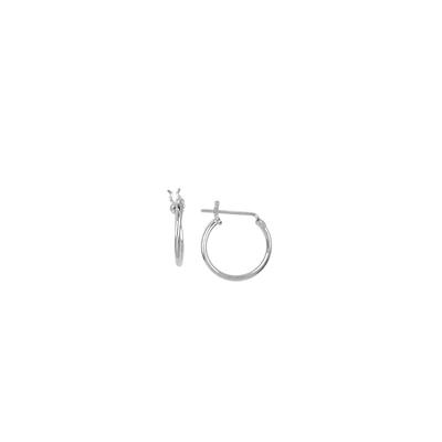 Boma Small Sterling Silver Hoops