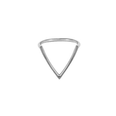 Boma Sterling Silver V Ring