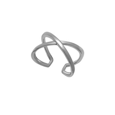Boma Sterling Silver X Ring