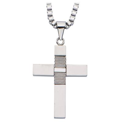 Inox Stainless Steel Cross Necklace