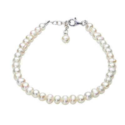 Kit Heath White Pearl Strand Bracelet