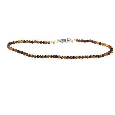 Skinny Mini Tigers Eye Bracelet