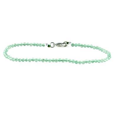 Skinny Mini Green Aventurine Bracelet