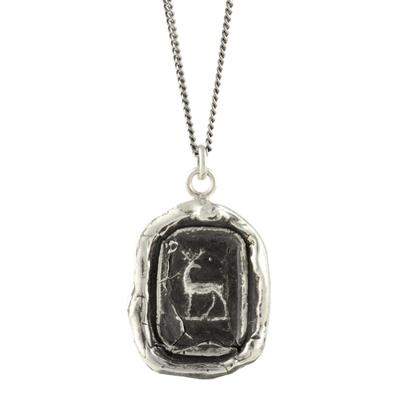 Pyrrha Sterling Silver Whole Hearted Talisman Necklace