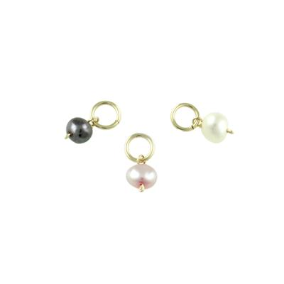 Gold Filled Pearl Charms