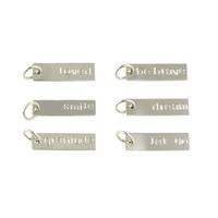 Sterling Silver Power Word Charms